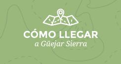 Cómo llegar a Güéjar Sierra