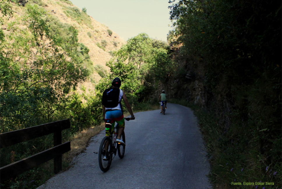 Bicicleta Güéjar Sierra