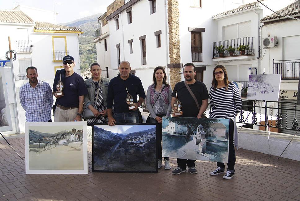 Ganadores VI Certamen de Pintura Rápida