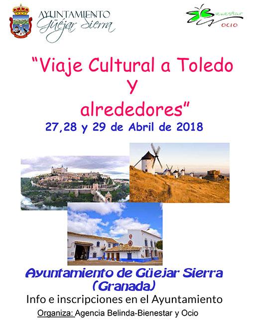 Cambio de viaje a Sevilla por Toledo