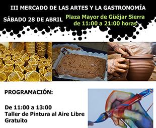 III Mercado de las Artes y las Gastronomía de Güéjar Sierra