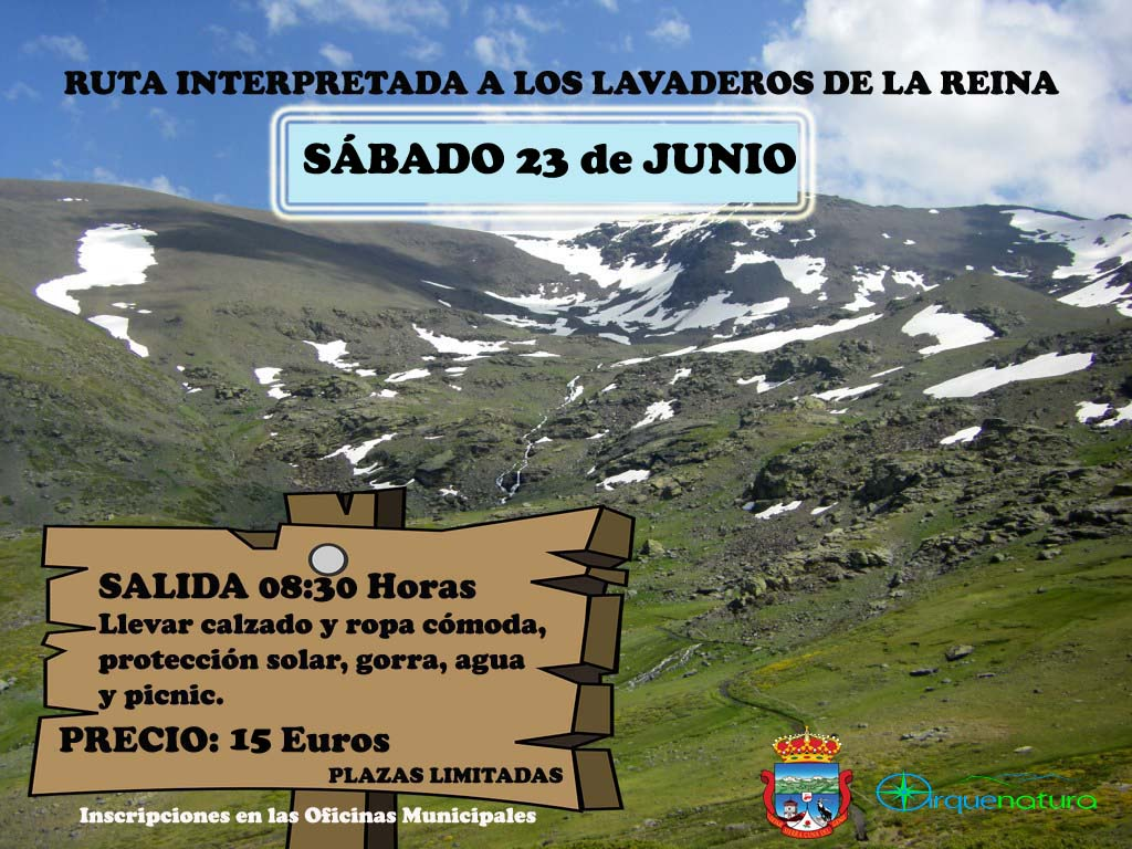 excursion a los lavaderos de la reina
