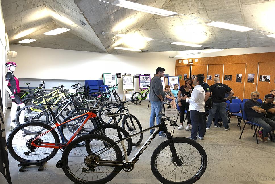 Presentacion bici montaña
