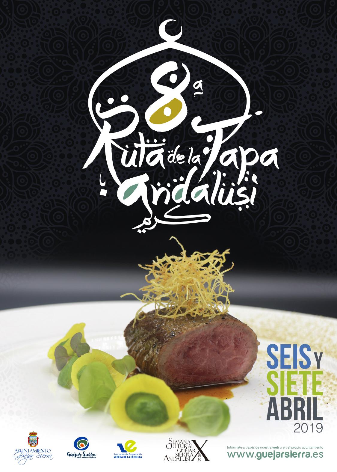 Ruta Andalusí cartel 2019 traz