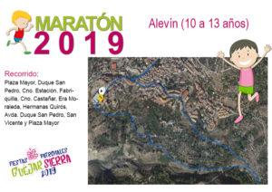 Fiestas Maraton alevin