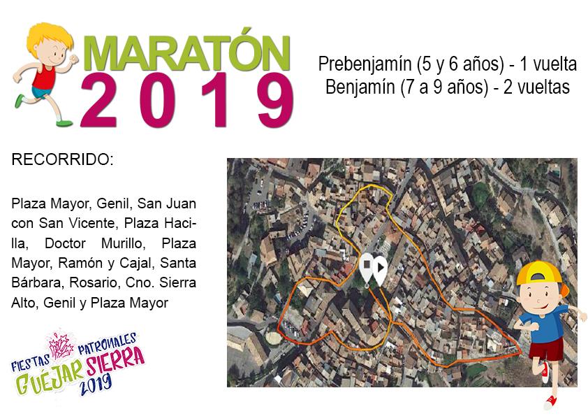 Fiestas Maraton benjamin