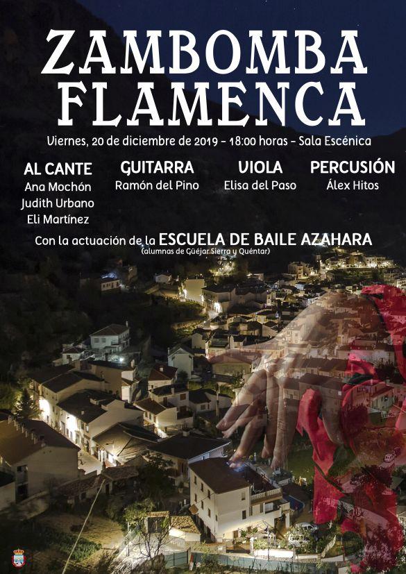 Zambomba flamenca CARTEL