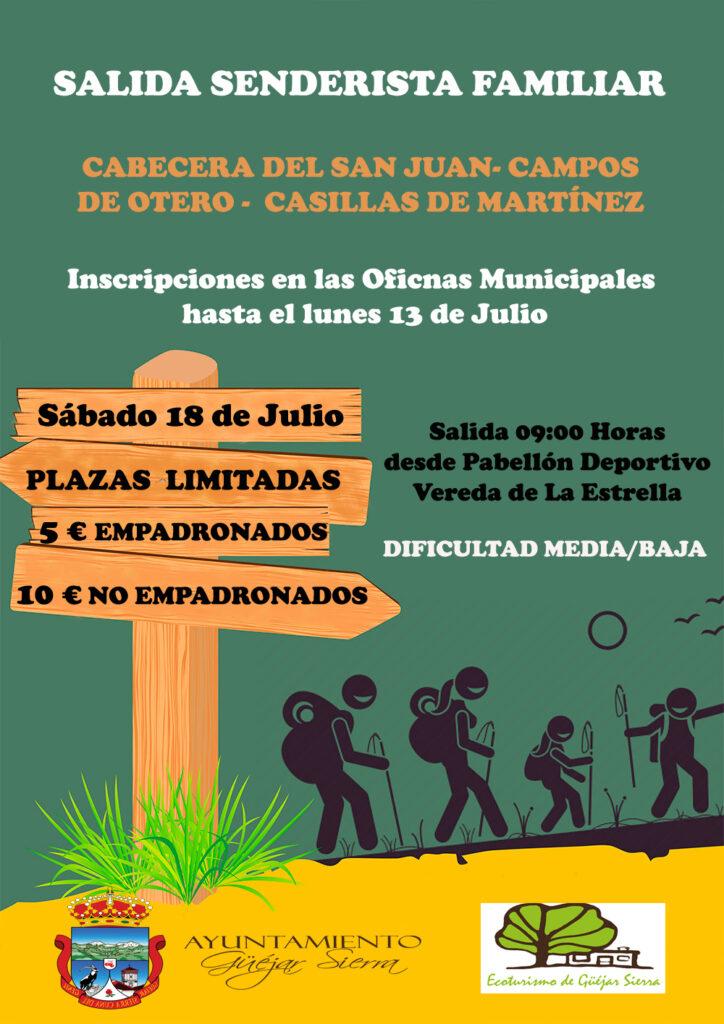 Salida Senderista Cabecera del Sanjuan Campos de Otero